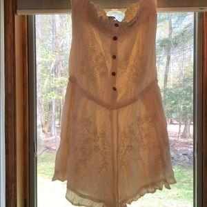Dresses & Skirts - cream romper